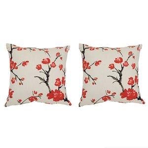 Pillow perfect flower branch accent pillows